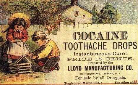 Twitter / History_Pics: Cocaine toothache drops for ... | Toothache | Scoop.it