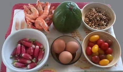 Salades fraicheur crevette,Salade de l'Océan crevette noix | Ma boite à pêche | Scoop.it