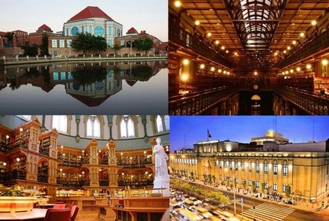 62 of the World's Most Beautiful Libraries | Mental Floss | Rare and special | Scoop.it