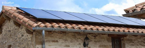 Les panneaux solaires hybrides équipent le résidentiel | Chronique d'un pays où il ne se passe rien... ou presque ! | Scoop.it