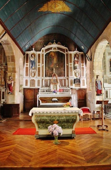 Eglise et calvaire à Guimaec (Finistère) | Revue de Web par ClC | Scoop.it