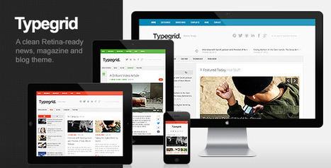 Typegrid - Responsive News & Magazine Theme | Latest Wordpress Themes | Scoop.it
