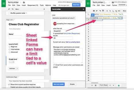 A Powerful Google Forms Tool for Teachers ~ Educational Technology and Mobile Learning | Teaching with web 2.0 tools | Scoop.it