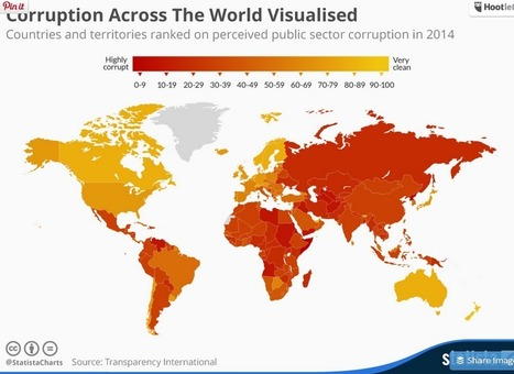 Infographic: Corruption Across The World Visualised | Public Relations & Social Media Insight | Scoop.it