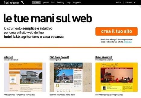 Come Creare un Sito per Bed and Breakfast con FreshCreator | Strumenti di Web Marketing per B&B | Scoop.it