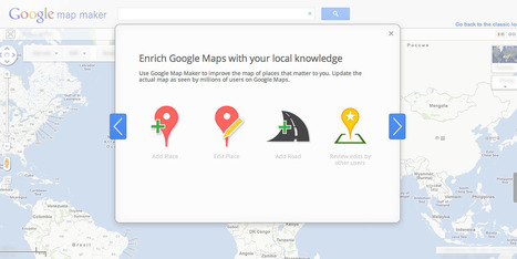 Google Map Maker de nouveau disponible en France | FabLab-Net-iKi | Scoop.it