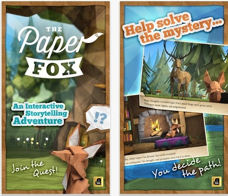 "Bento Box Interactive Launches New Storytelling App ""The Paper Fox"" 