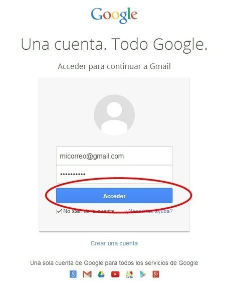 Iniciar Sesion en Gmail | crearcorreo.mx | Scoop.it