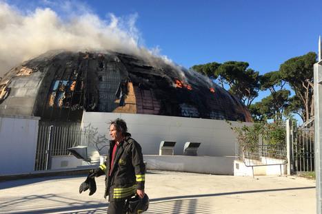 Roma, in fiamme l'Auditorium di Pineta Sacchetti  /Video - Foto   My city Rome   Scoop.it