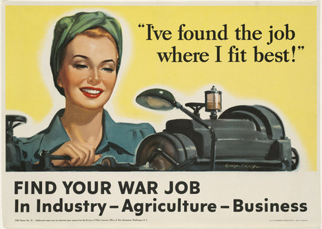 Work, Duty, Glamour: How They Sold War Work To Housewives » Copy / Paste by Peter Pappas | History and the Australian curriculum | Scoop.it