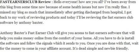 Fast Earners Club Review | Pro Winner Team | Pro Winner Team | Scoop.it