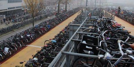 Amsterdam dépassée par le succès du vélo | Balades, randonnées, activités de pleine nature | Scoop.it