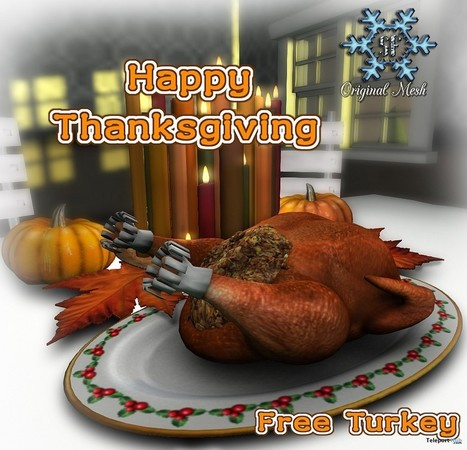 Turkey Platter Group Gift by Snowflake Designs | Teleport Hub - Second Life Freebies | Second Life Freebies | Scoop.it