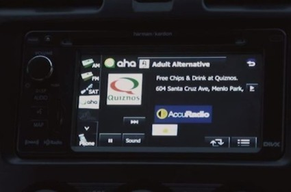 Location-based In-car Advertising Efforts On The Rise | Marketing Education | Scoop.it