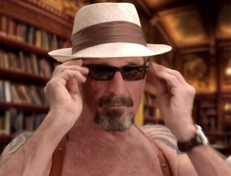 John McAfee explains how to uninstall McAfee in deranged how-to video (NSFW) | The *Official AndreasCY* Daily Magazine | Scoop.it