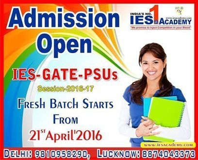 Fresh Batches are starting from 21st April at IES Academy | IES Coaching in DELHI | Scoop.it