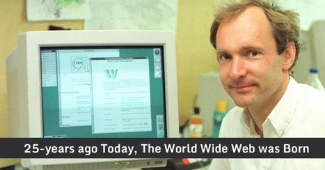 On This Day 25-years Ago, The World's First Website Went Online | Mundos Virtuales, Educacion Conectada y Aprendizaje de Lenguas | Scoop.it
