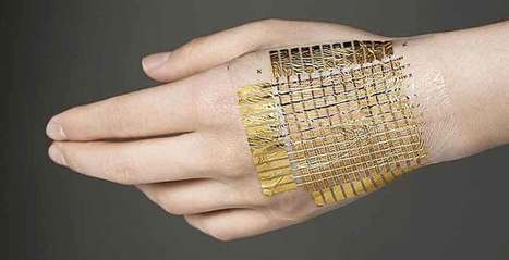 UP Magazine - e-Skin : bientôt nous serons connectés à fleur de peau | La Wearable Tech | Scoop.it