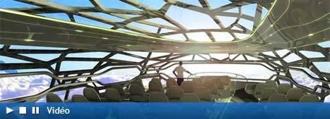 Sociétés : Airbus dévoile sa vision de l'avion du futur | Notre planète | Scoop.it