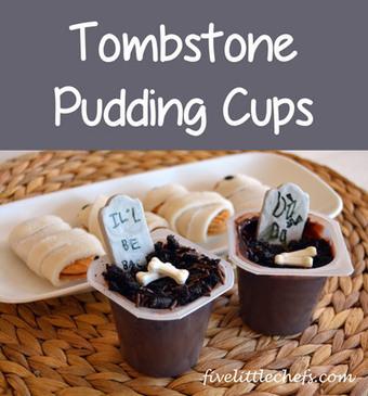 Tombstone Pudding Cups | Fiestas & Fêtes pour les petits | Scoop.it