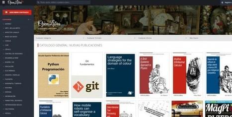 OpenLibra lanza nueva versión con cientos de libros gratis online | Noticias | Scoop.it
