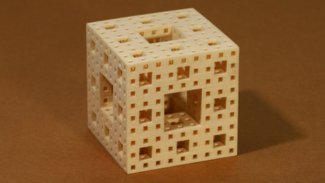 You might not yet know what a Menger Sponge is, but you will be impressed after watching this video - Mathematical Impressions: The Surprising Menger Sponge Slice   Simons Foundation   Science, I choose you!   Scoop.it
