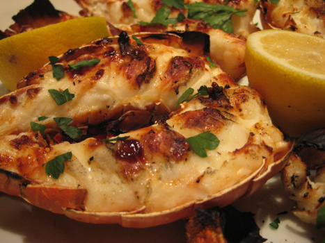 Lobster Tails: Delectable & Meaty | Its All About Seafood | Scoop.it