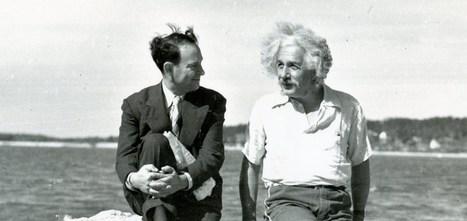 Albert Einstein no era puro trabajo, también iba a la playa (Fotos) | empleo en España | Scoop.it
