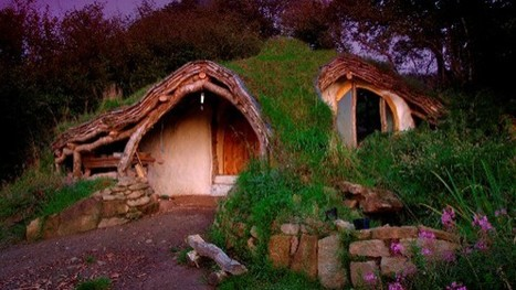 Une maison de Hobbit écologique et bon marché : 4.650 $ ! | Remembering tomorrow | Scoop.it