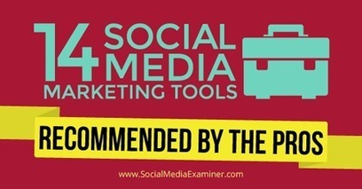 14 Social Media Marketing Tools Recommended by the Pros | | Surviving Social Chaos | Scoop.it