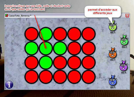 Casse Tête Reverso | Jeux numériques pour l'école | Scoop.it