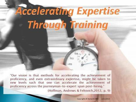 9 Famous Training Models Supporting Development and Speed up of Expertise | Personal Resonance © - Accelerating Time-to-Expertise | Scoop.it