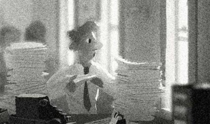 "Huffington Post - Disney's ""Paperman"" short showcases new CG / hand-drawn animation hybrid 