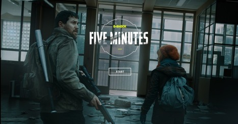 FIVE MINUTES - Interactive Short | CRÉATION DIGITALE | Scoop.it