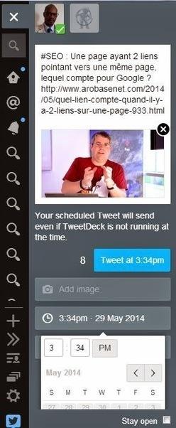 TweetDeck de Twitter autorise la planification des Tweets avec images - #Arobasenet | Médias et réseaux sociaux | Scoop.it