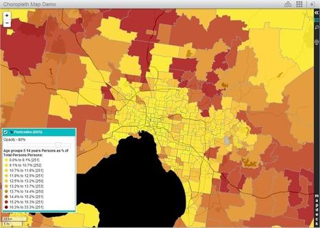 Presenting spatial data with Thematic Mapper | Nuevas Geografías | Scoop.it