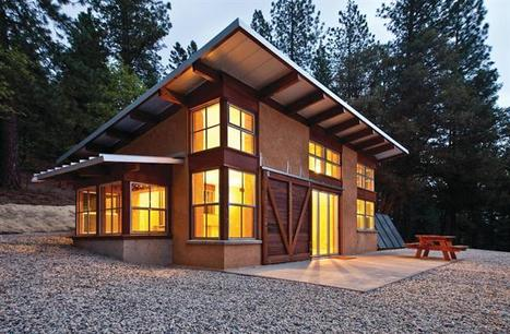 A Northern California Vacation Cabin Looks After Itself | sustainable architecture | Scoop.it
