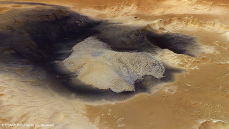 A Radiating Beauty on Mars - eNews Park Forest | Why Geology Rocks | Scoop.it