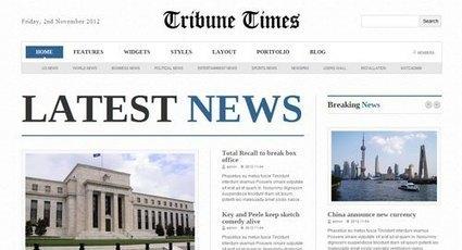 Free Download Tribune Times WordPress Theme, Free WordPress Themes | EmBlogger | EmBlogger.com | Scoop.it