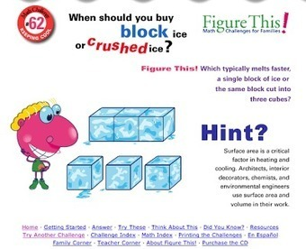 Free Technology for Teachers: Figure This - Math Challenges for Families | NOLA Ed Tech | Scoop.it
