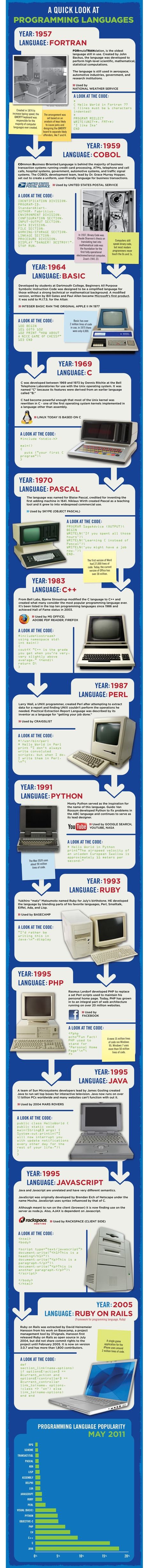 Infographic about Programming | IT, Electronics, Programming | Scoop.it