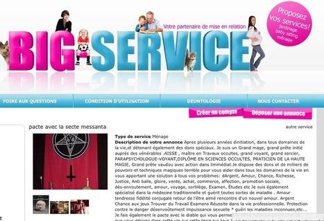 Une secte propose ses services dans la rubrique Ménage | Weird | Scoop.it