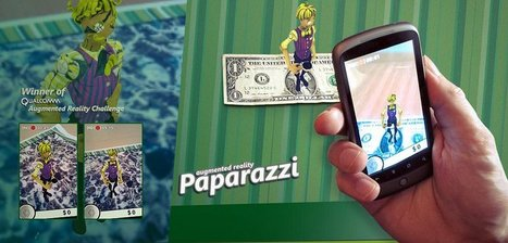 Paparazzi - Qualcomm's No.1 rated Augmented Reality Game | Augmented Reality News and Trends | Scoop.it