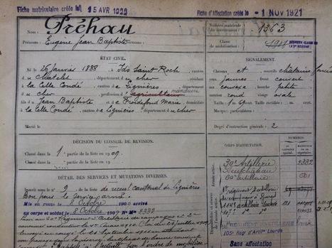 MesRacinesFamiliales: Eugène Préhau - Bataille de la Somme 1914-1915 (2ème partie) | GenealoNet | Scoop.it