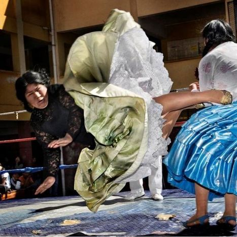 Inside the weird world of Bolivian female wrestlers | Strange days indeed... | Scoop.it