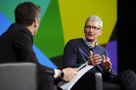 Tim Cook: Apple won't merge iOS and OS X - Engadget | Edtech PK-12 | Scoop.it