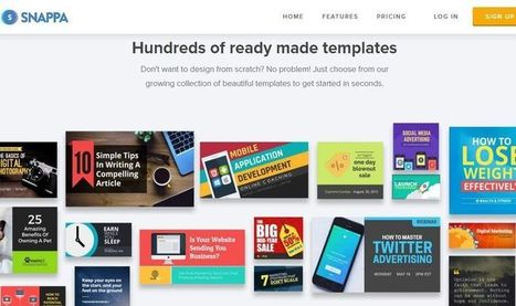 Snappa: utilidad web para crear imágenes sin ser diseñador | Al calor del Caribe | Scoop.it