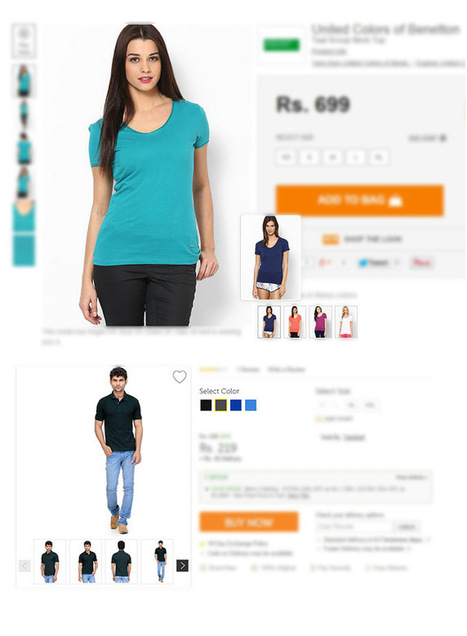 Photography in eCommerce Websites | Websites - ecommerce | Scoop.it