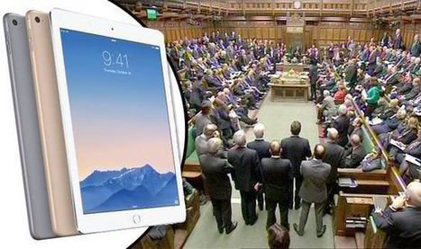 All 650 MPs are to be given a brand-new iPad Air 2 in £1MILLION Commons hardware refresh | Modern Educational Technology and eLearning | Scoop.it