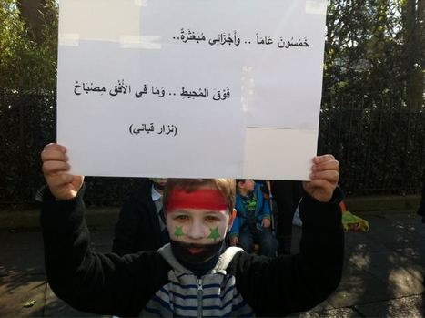 Syria mourners call for revolt, forces fire tear gas   Coveting Freedom   Scoop.it